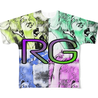 T. K. V.の鬼瓦®️ Full graphic T-shirts