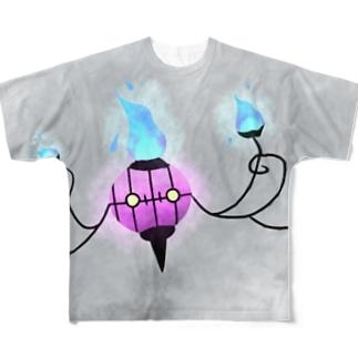 シャンデラ Full graphic T-shirts