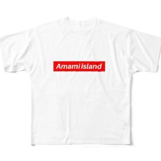 Amami island Full graphic T-shirts