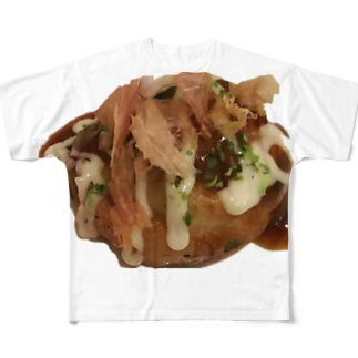 大だこ 赤羽 定番ソース Full graphic T-shirts