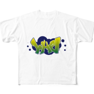 2017WHOロゴカラー版 Full graphic T-shirts