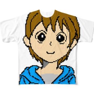 リンちゃん Full graphic T-shirts