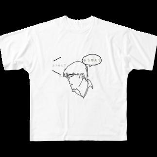 wakiyamaのサンドウィッチマン富澤 Full graphic T-shirts