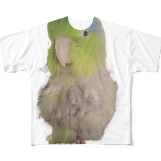 マメルリハのまめぞう Full graphic T-shirts