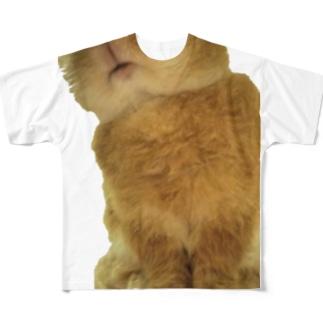 ぽわわ~ん 召喚獣シリーズ Full graphic T-shirts