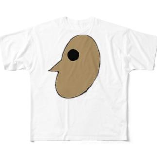 古大人(切り抜き版) Full graphic T-shirts
