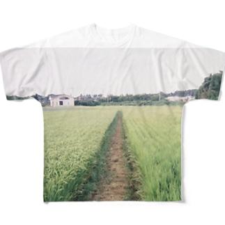 はるの田んぼの会会員 Full graphic T-shirts