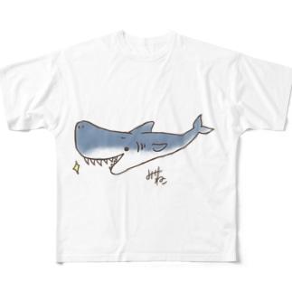 サメ🦈 Full graphic T-shirts