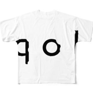 munokshowのQOL Full graphic T-shirts
