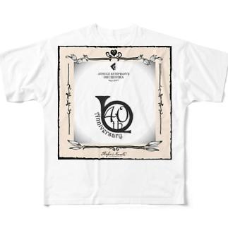厚木交響楽団40周年記念 Full graphic T-shirts