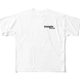 Unique Factorのunique factor Full graphic T-shirts