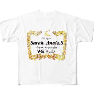 sarah Full graphic T-shirts
