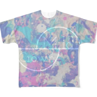 Mild Crown Full graphic T-shirts