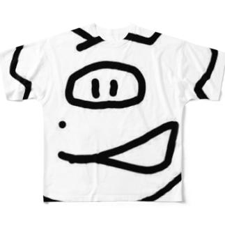 asim_oooのおのみ Full graphic T-shirts