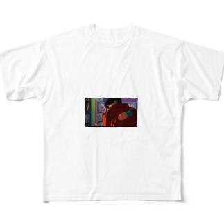 かっけえ Full graphic T-shirts