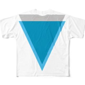 Verge(バージ)ロゴ Full graphic T-shirts