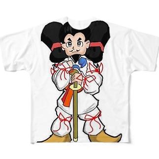 RSCスタジオSHOPの大国クン Full graphic T-shirts