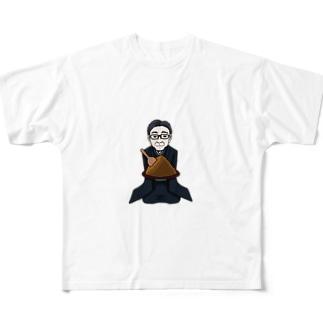 味噌旦那 Full graphic T-shirts
