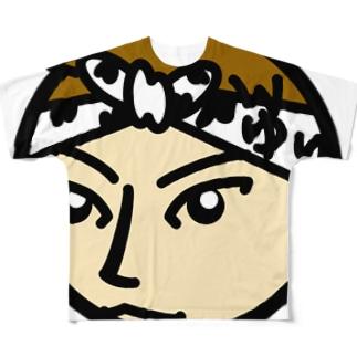 パ紋No.3139 ゆり Full graphic T-shirts