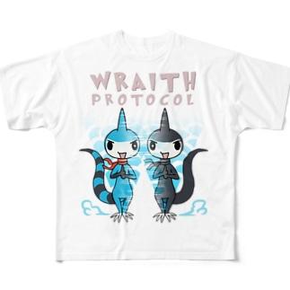バージリスク(レイス・プロトコル) Full graphic T-shirts