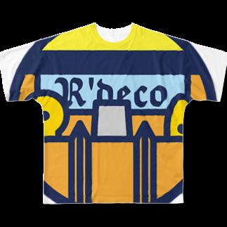 原田専門家のパ紋No.3144 R'deco  Full graphic T-shirts
