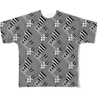 diagonal special 2 Full graphic T-shirts