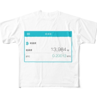 総資産13,984円 Full graphic T-shirts
