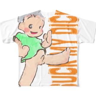 さっくまいでぃっく Full graphic T-shirts