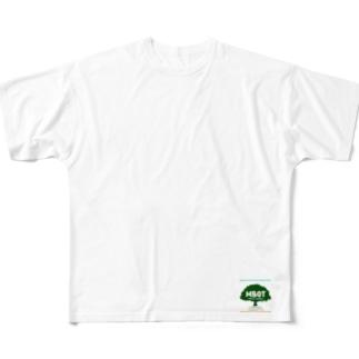 MBOT公式グッズ(空と大地バージョン) Full graphic T-shirts