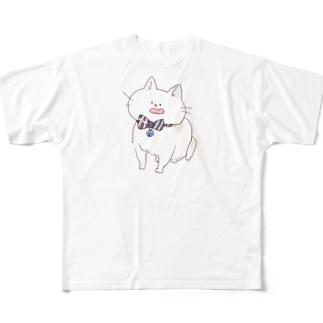 シロ Full graphic T-shirts