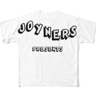 JOYNERS 01 BW Full graphic T-shirts