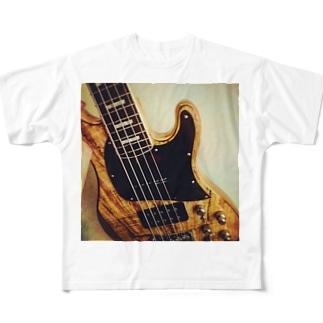 キャメロン Full graphic T-shirts