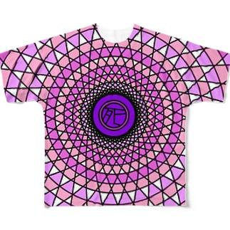 めんへらからふる Full graphic T-shirts
