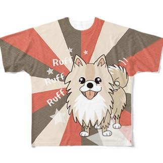 ぽめるのキラキラ フルグラフィックTシャツ Full graphic T-shirts