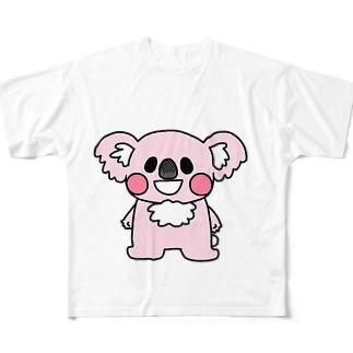 やどっこふぁみりー Full graphic T-shirts