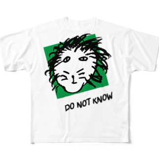 DO NOT ライオン Full graphic T-shirts
