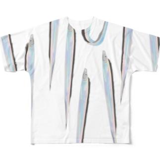 タチウオ Full graphic T-shirts