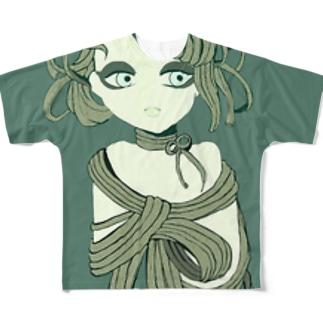 バジルパスタ Full graphic T-shirts