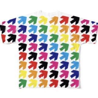 新矢印vol.2 Full graphic T-shirts