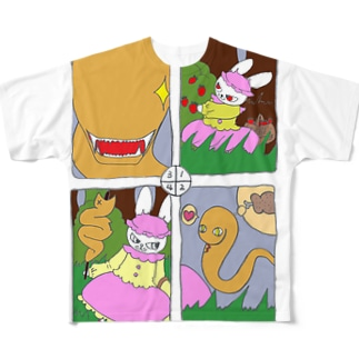 ブライミーマンガ Full graphic T-shirts