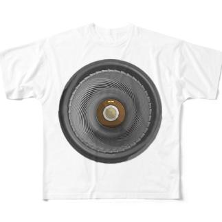 砲口 Full graphic T-shirts