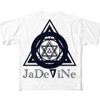 JaDeViNe MoNo Full graphic T-shirts