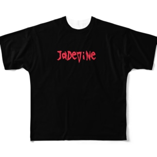 JaDeViNe シンプルロゴ Full graphic T-shirts