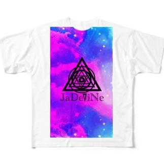 JaDeViNe  SpAcE Full graphic T-shirts