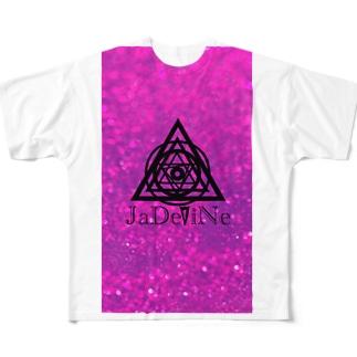 JaDeViNe PINKcosmic Full graphic T-shirts
