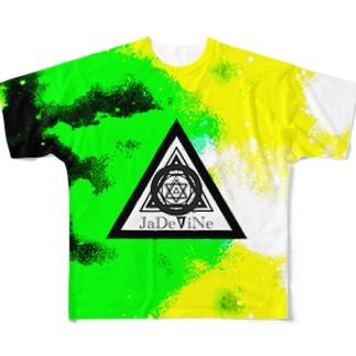 JaDeViNe smokelime Full graphic T-shirts