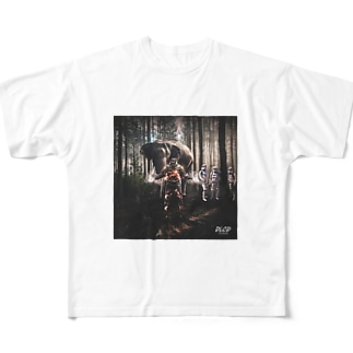 POWER FOREST Full graphic T-shirts