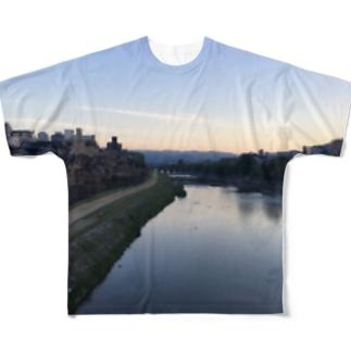 四条大橋 Full graphic T-shirts