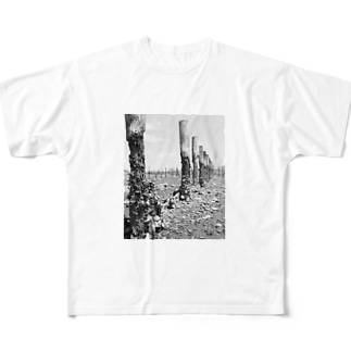 River Side Full graphic T-shirts
