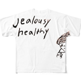 jealousy healthy Full graphic T-shirts